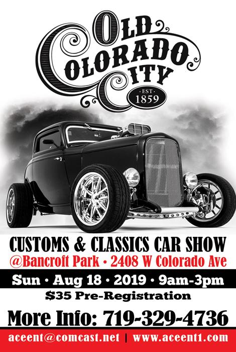3rd Annual Old Colorado City Car Show